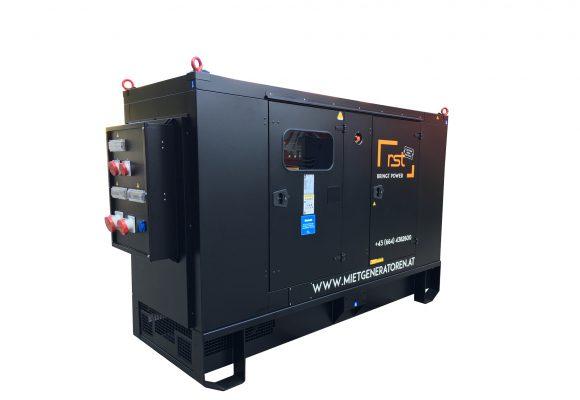 Foto vom 200kVA Generator